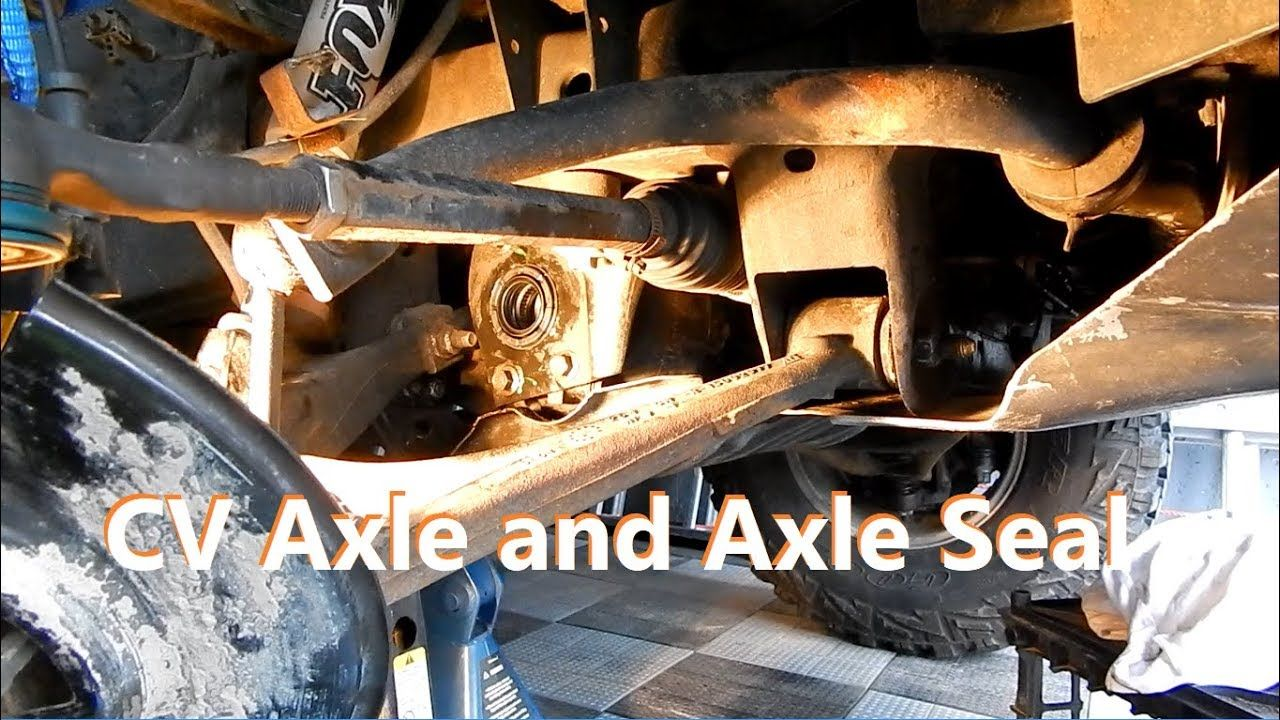 How to replace Axle Seal and CV Axle on GM trucks Hummer