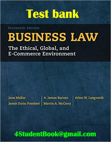 Business law text book pdf