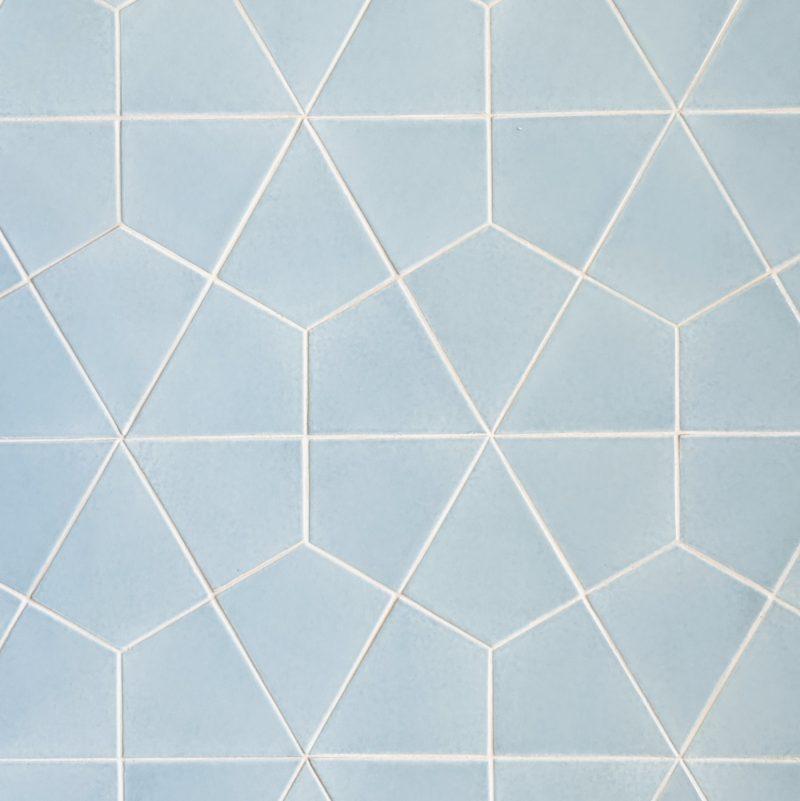 Cool Blue Bathroom Floor Tiles Fireclay Tile Bathroom Floor Tiles Tile Floor Patterned Floor Tiles