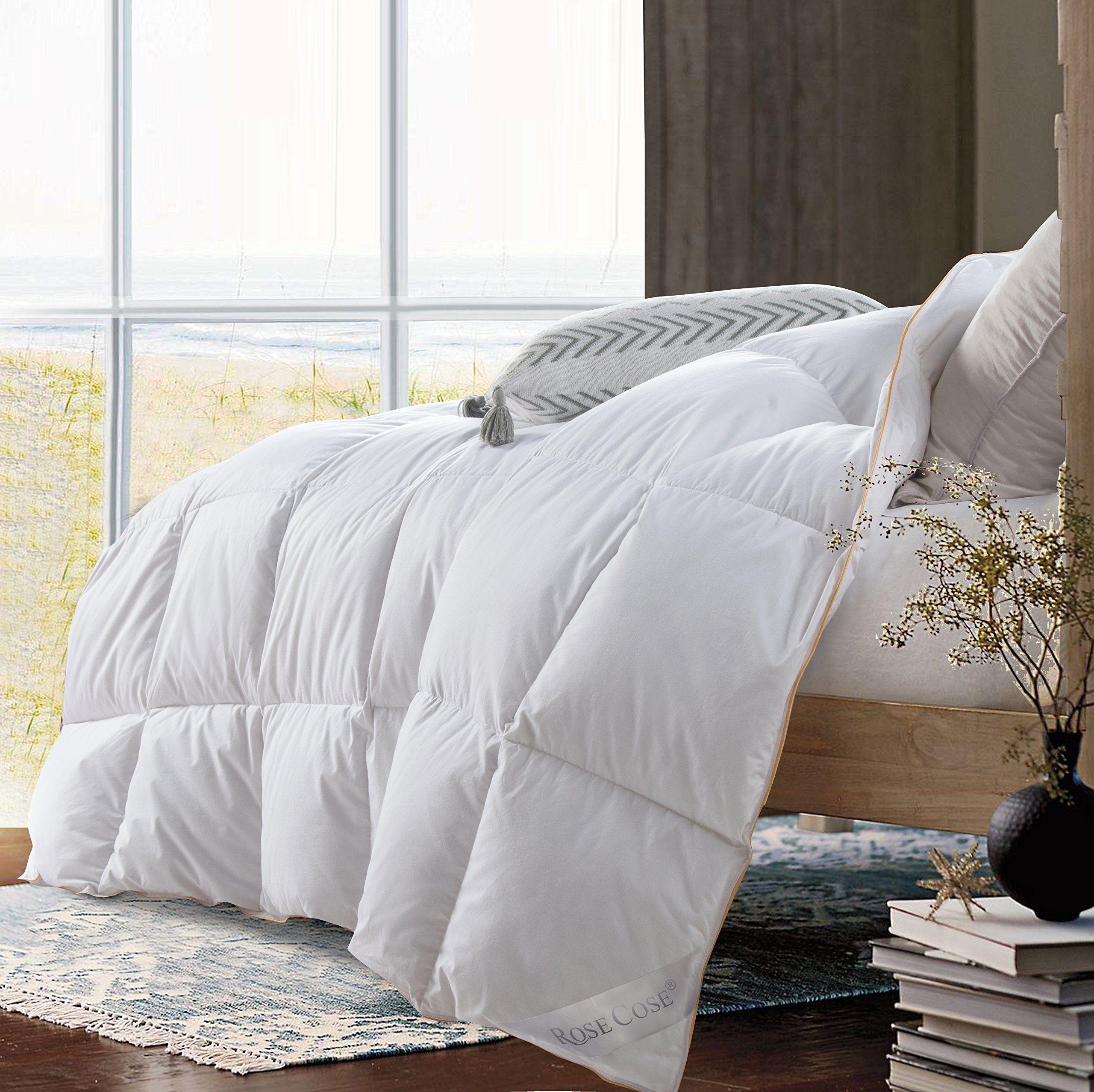 Rosecose Luxurious Lightweight Goose Down Comforter Duvet Insert