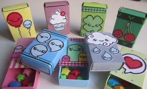 Como decorar cajas de cerillos manualidades de hogar - Manualidades de hogar ...