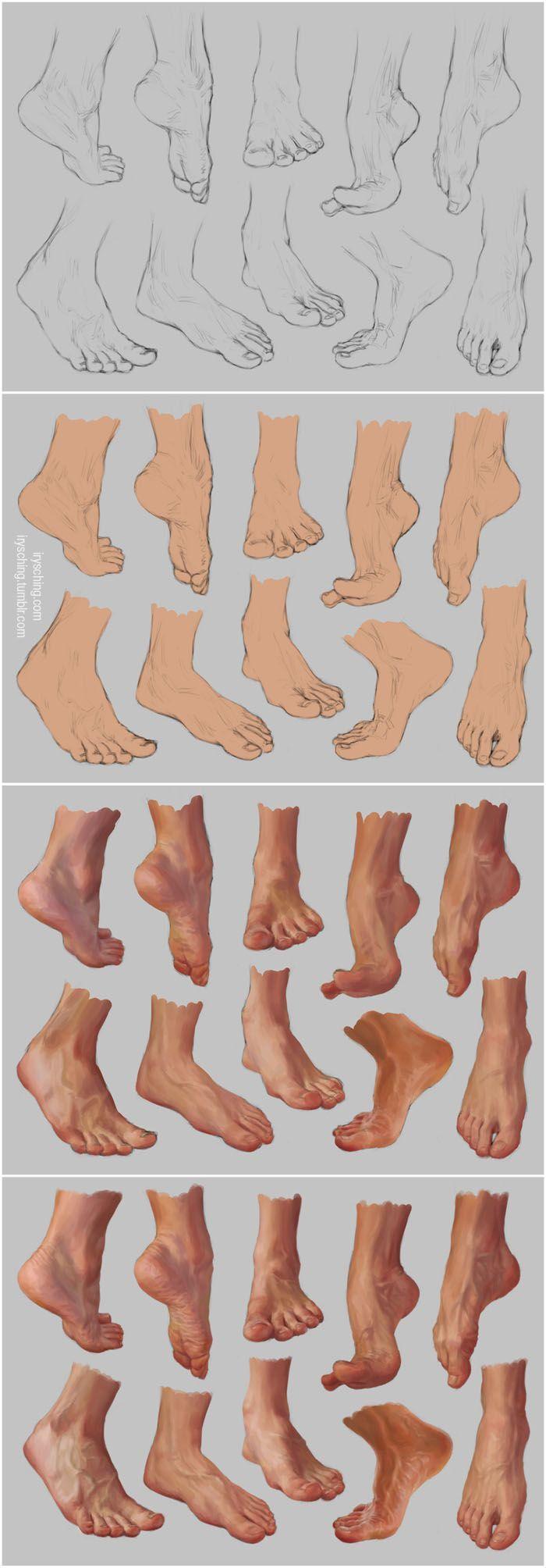 studio piedi