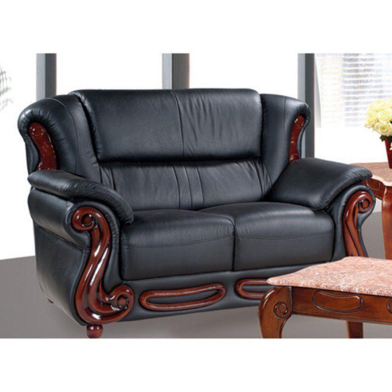 Meridian Furniture Inc Bella Loveseat Black - 632BL-L