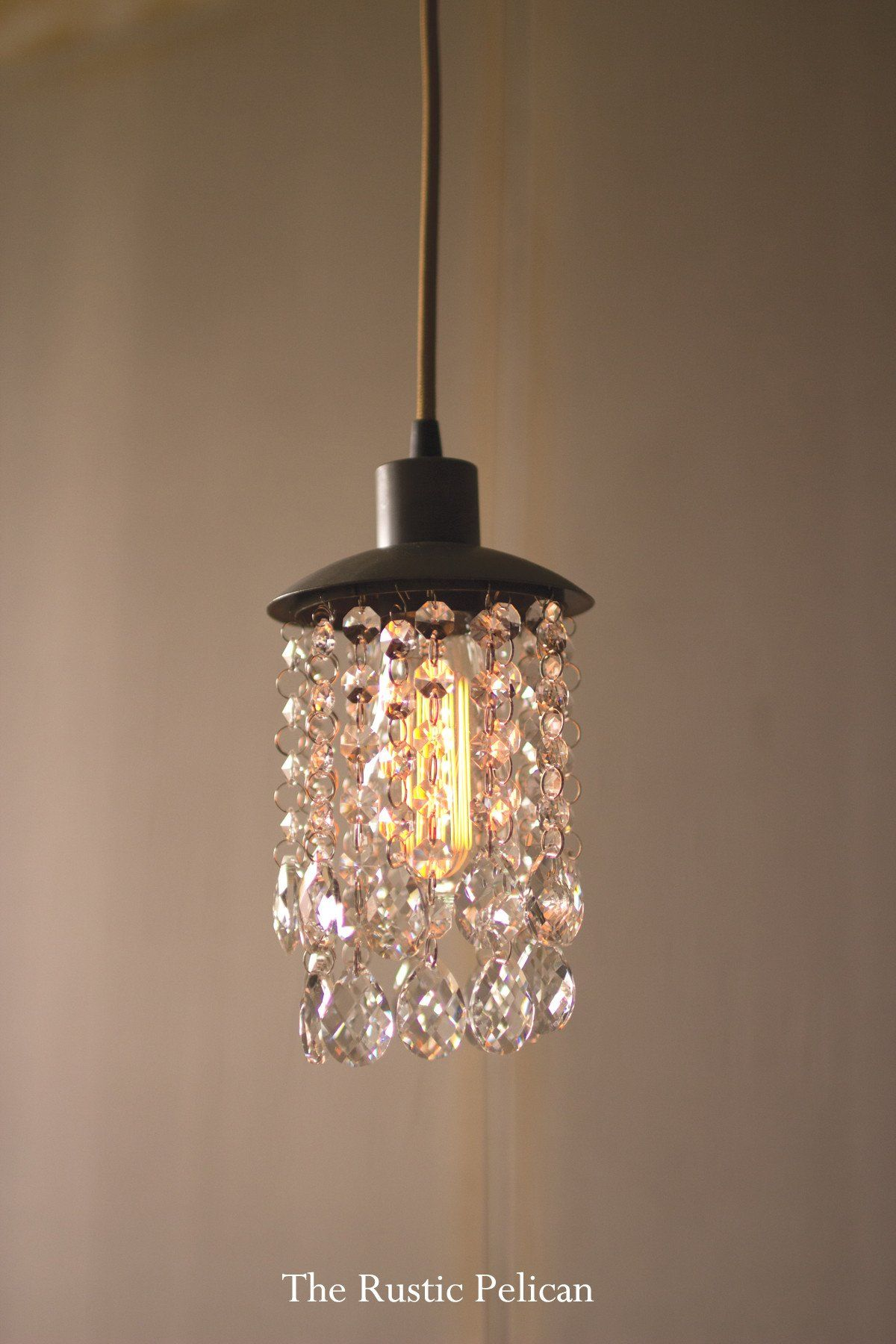 Farmhouse chandelier rustic crystal chandelier modern
