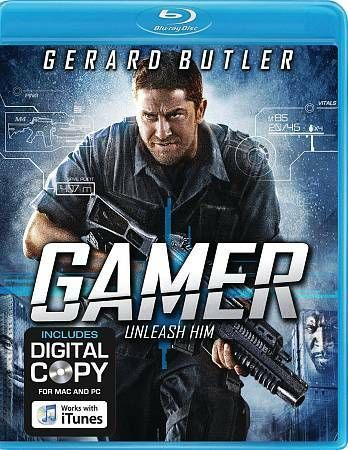 Details about Gamer (Blu-ray Disc, 2010, Includes Digital Copy) Starring Gerard Butler #bluray