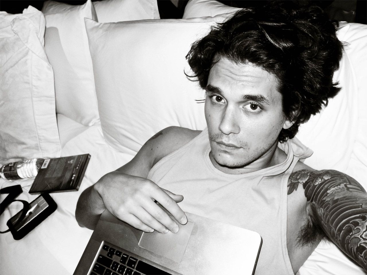 John Mayer Come Back To Bed Covered In Rain Edge Of Desire