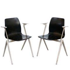 Friso Kramer armchairs