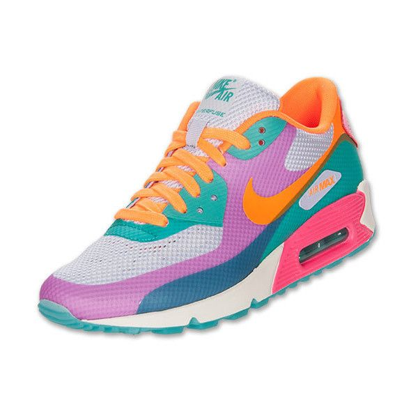 meet 5900e 0cdbb ... coupon for womens nike air max 90 hyperfuse premium running shoes 120  liked on polyvore featuring