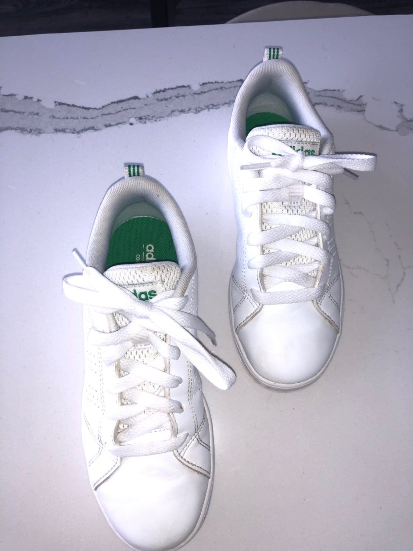 Adidas Neo Boys Tennis shoe size 3 comfort footbed   Boys tennis ...