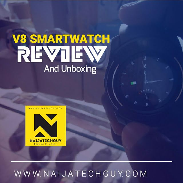 V8 Smartwatch Review - This Watch Does Almost Everything