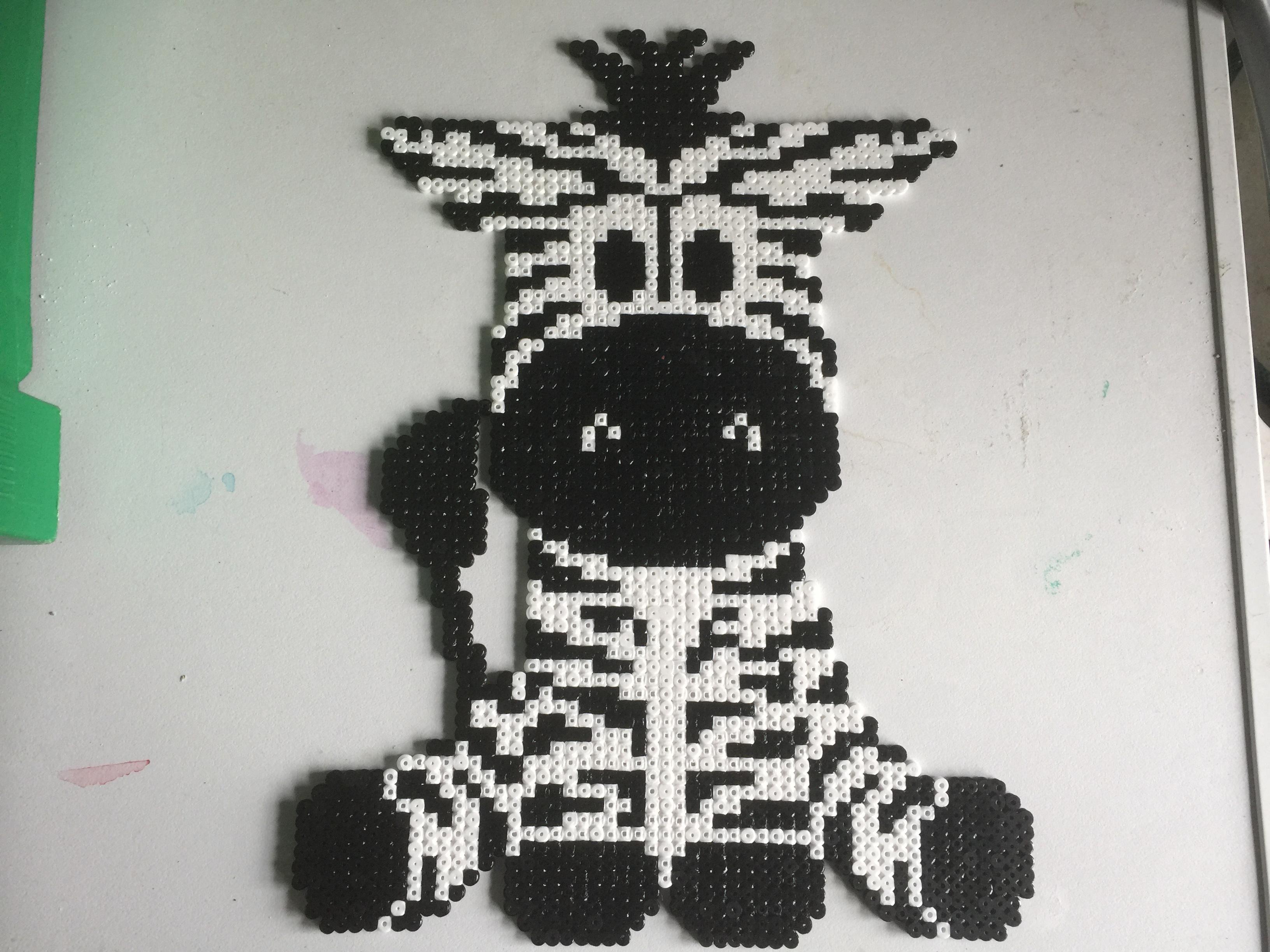 den lille zebra
