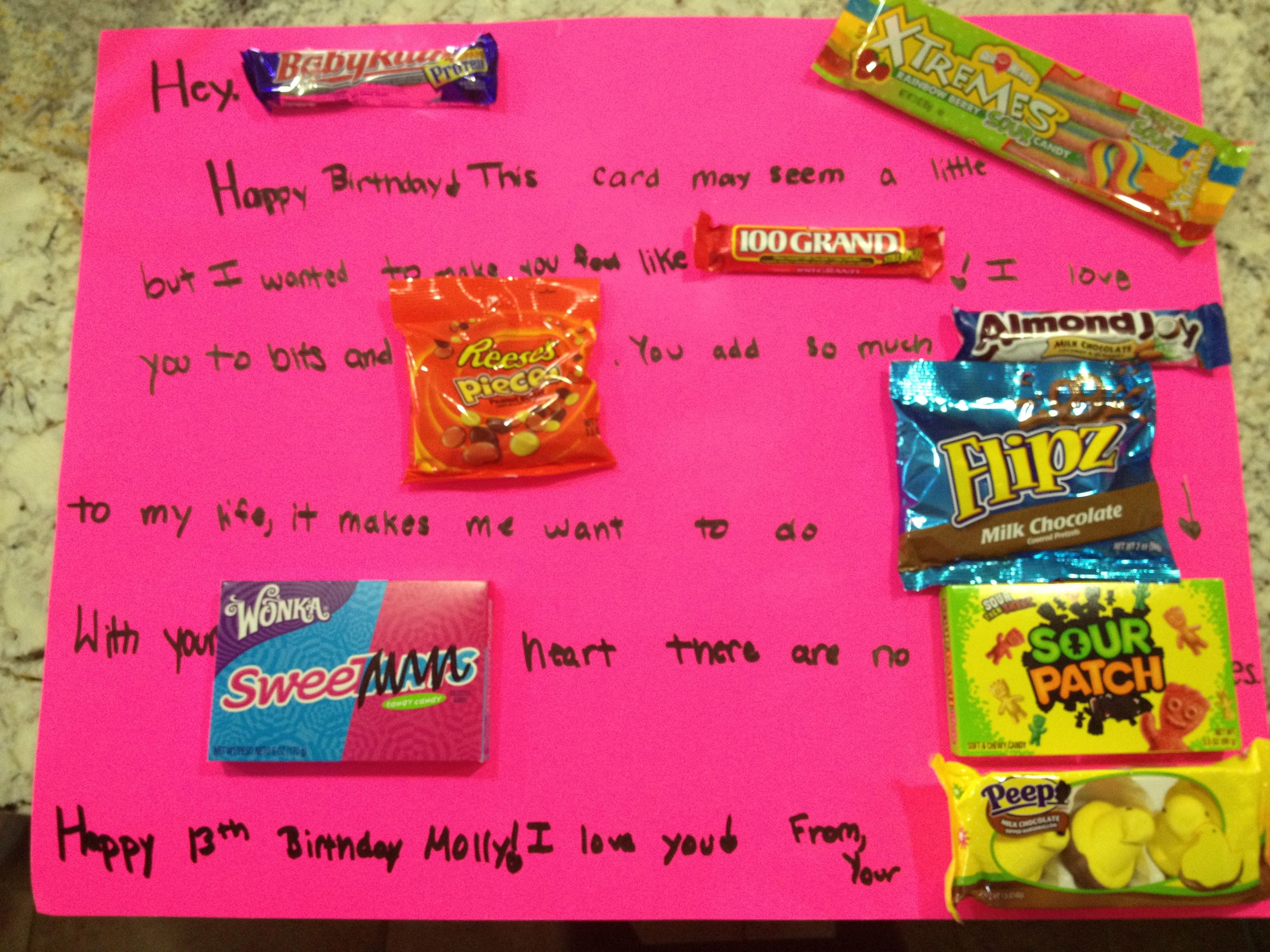 Candy Poster My Friend Made This For My Birthday And It