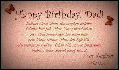 Message For Dad On His Birthday From Daughter Fashioncluba
