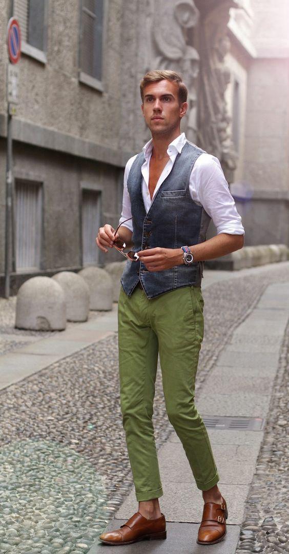 Looks com Alpargatas Masculinas para usar no verão! Moda