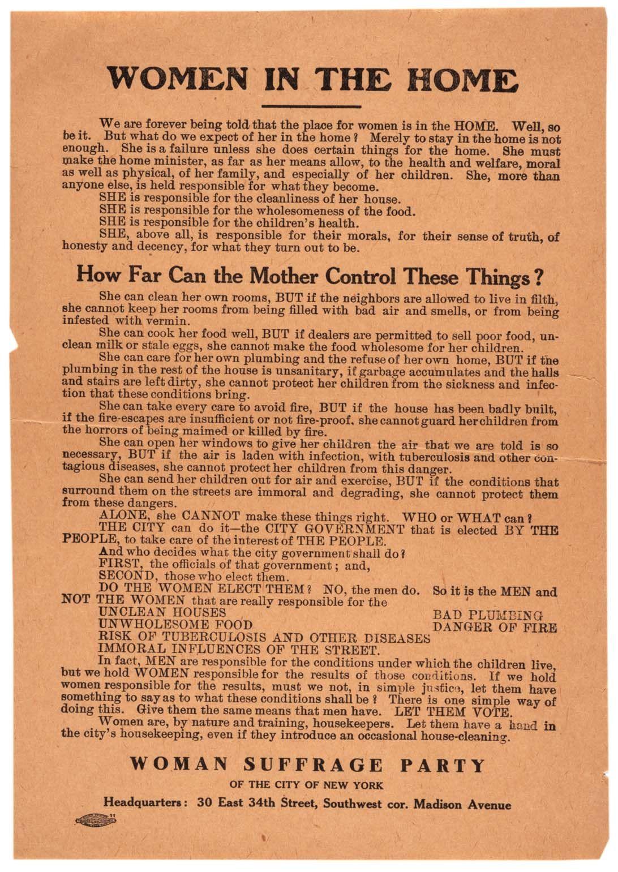 Woman suffrage movement essay