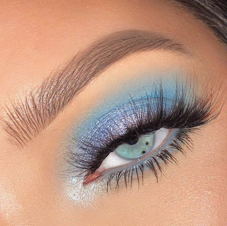 """ColourPop Cosmetics on Instagram: """"❄ ice me out ❄ - Featuring: Blue Moon Palette - @whitneykshepherd - #colourpopme #bluemoonpalette #blueeyeshadow #bluepalette"""""""