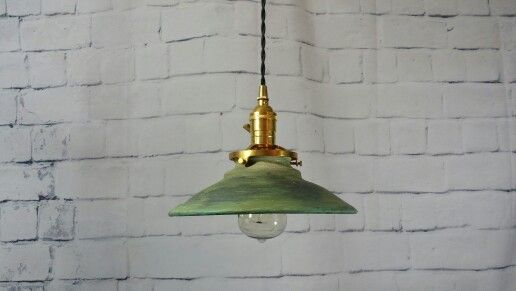 Handcrafted Pottery Hanging Pendant Light