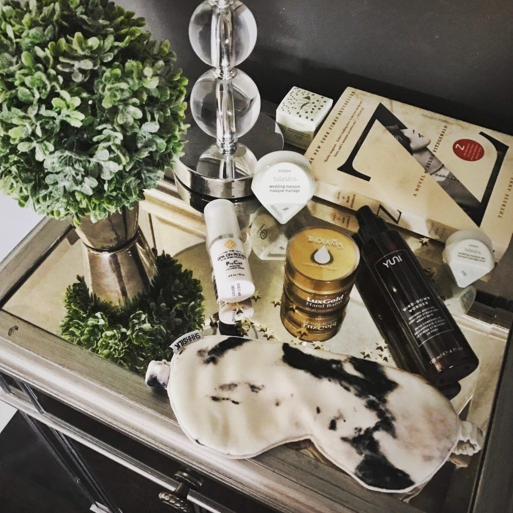 Nightstand Necessities (With images) Silk eye mask