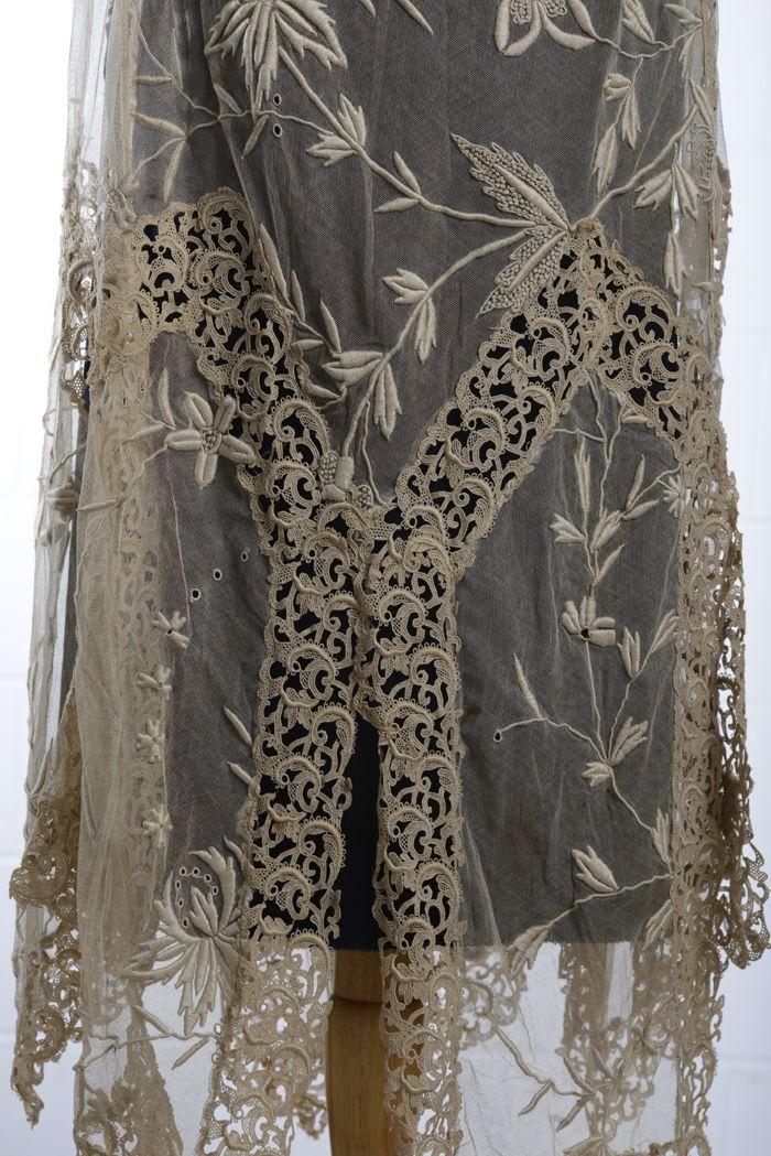 1920s dress (detail).
