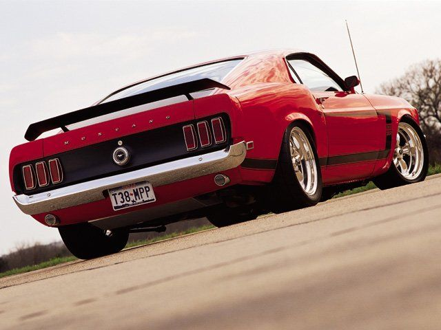 1969 Ford Mustang Fastback Boss 302 With Polished American Racing