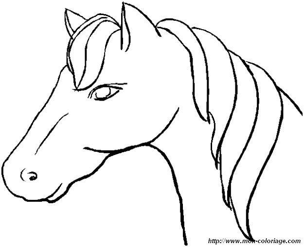 ausmalbild pferd ausmalen   Ausmalbilder, die ich mag.   Pinterest ...
