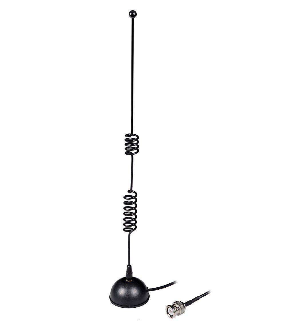 IC-V80 Indoor Base Antenna HYS MS801 for Icom IC-V8 IC-U82 IC-V82 Heavy Duty VHF UHF 144MHZ/&430MHZ Walkie Talkie Amateur Ham Radio Dual Band BNC Magnetic Mount