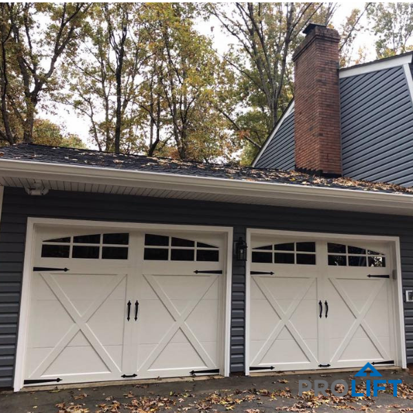 Meant To Emulate Old Fashion Painted Wood Carriage House Garage