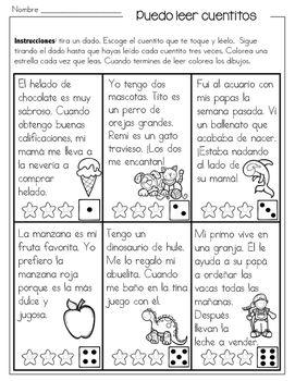 Cuentitos De Primavera Para Mejorar La Fluidez En Español Spanish Lessons For Kids Spanish Classroom Activities Spanish Teaching Resources