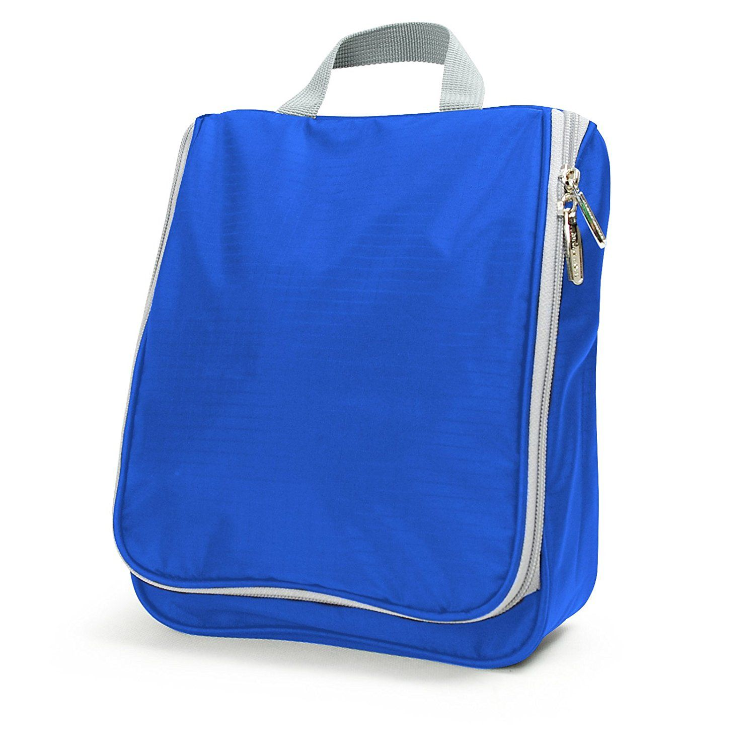 Lavievert Toiletry Bag / Portable Travel Organizer / Household Storage Pack / Bathroom Makeup or Shaving Kit with Hanging for Business, Vacation, Household - Blue -- You can get more details by clicking on the image.