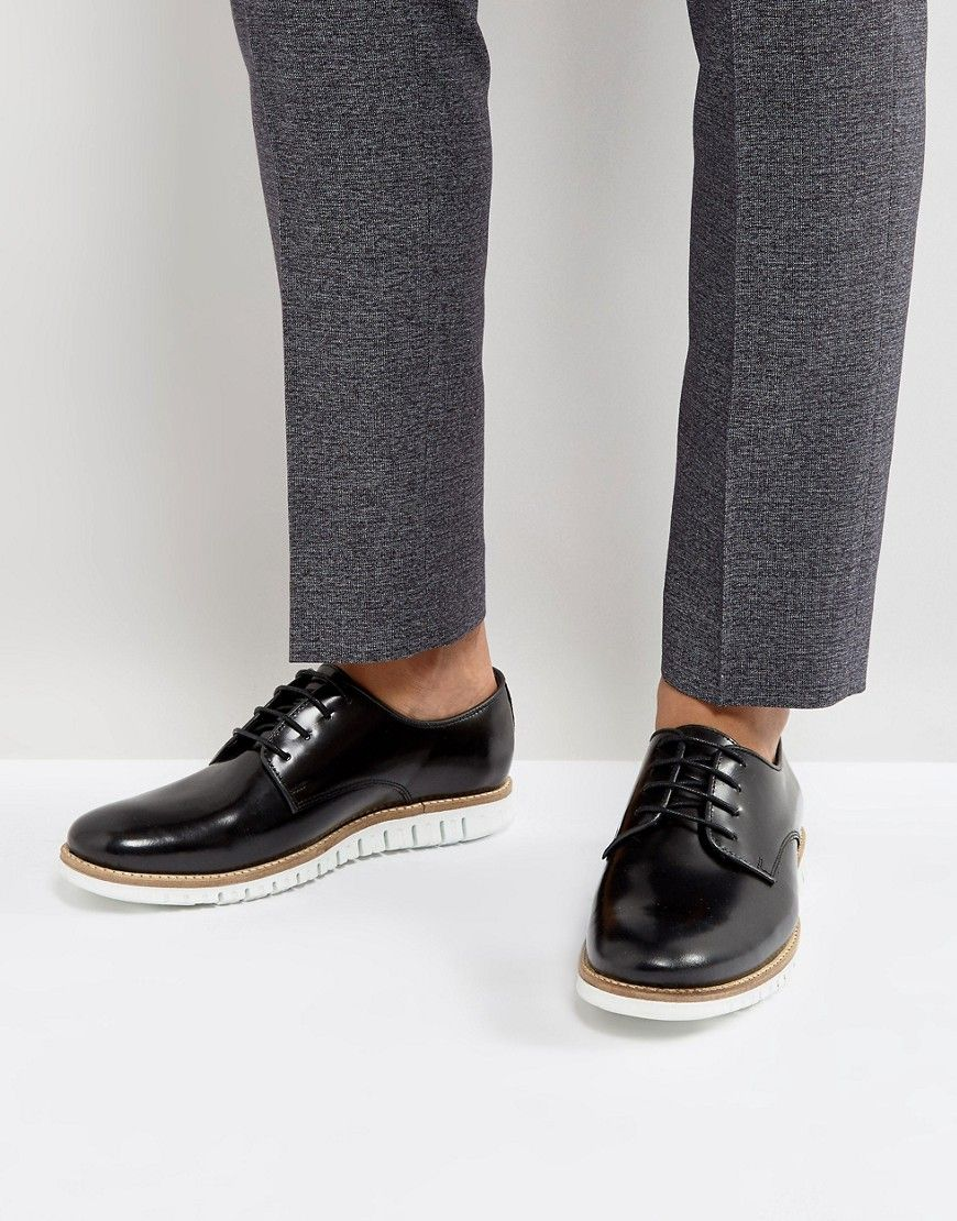 Get This Asos S Low Sneakers Now Click For More Details Worldwide Shipping Asos Lace Up Derby Shoes In Black Leather Derby Shoes Black Leather Sneakers Men [ 1110 x 870 Pixel ]