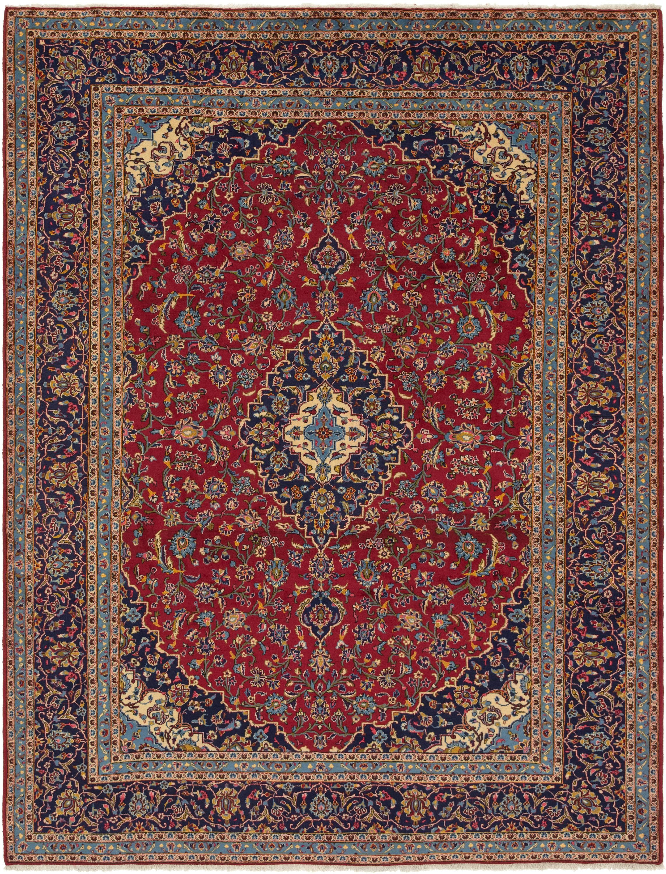 Red 9 10 X 13 Kashan Persian Rug Affiliate Red Rug Persian Kashan Sponsored Persian Rug Rugs Large Area Rugs