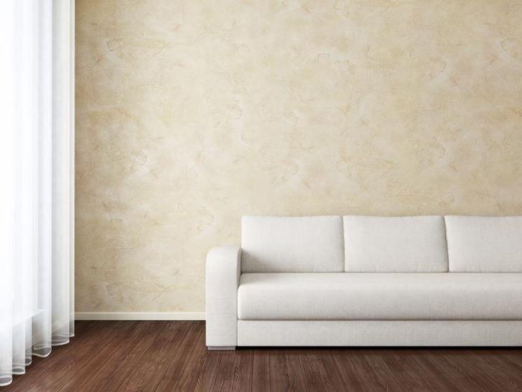 Parete con effetto tampone pitture pareti pinterest for Effetto spugnato pareti foto
