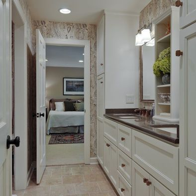 Traditional Bathroom Jack And Jill Bath Design Pictures Remodel