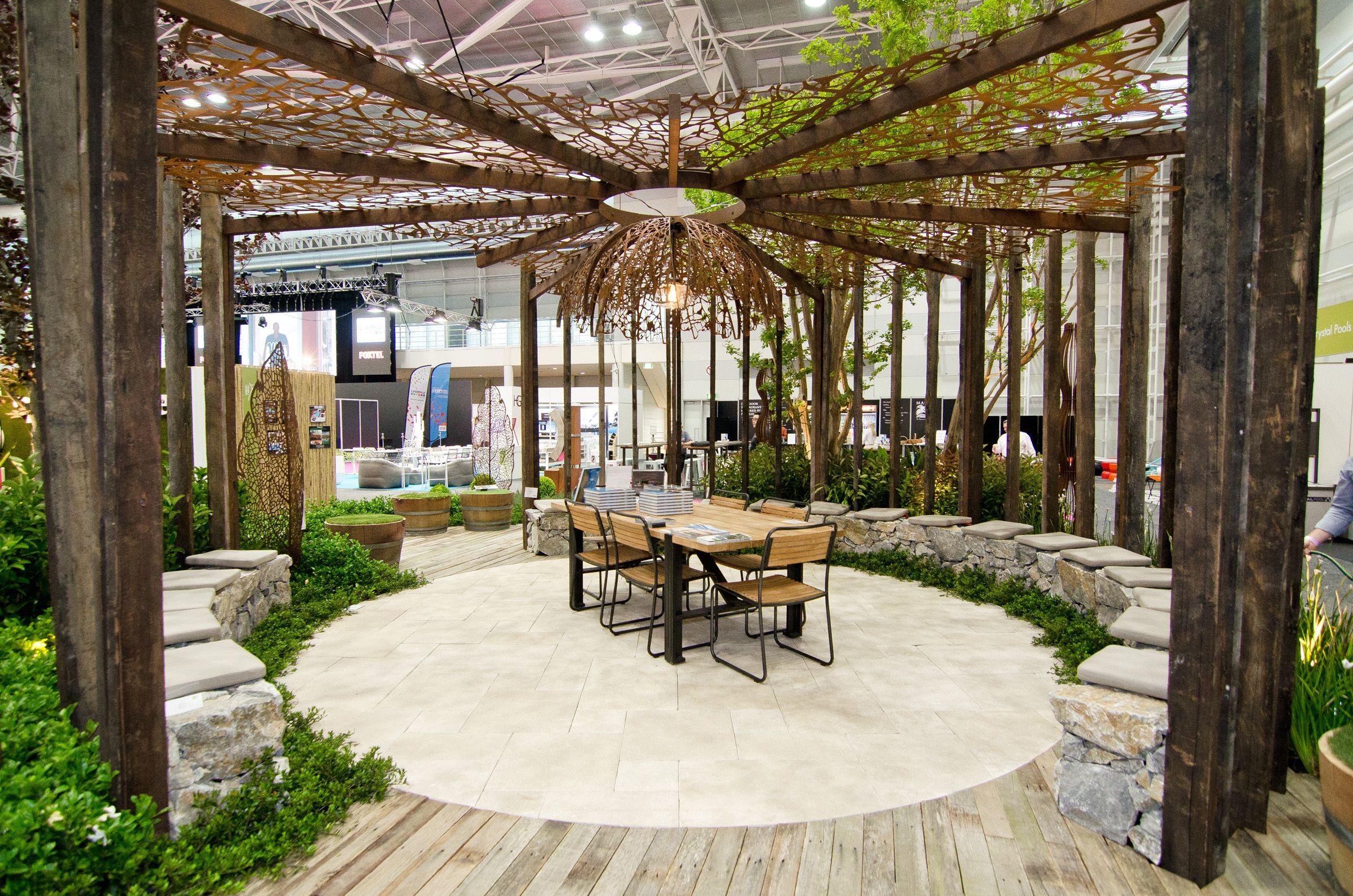 the rolling stone landscapes outdoor theatre designed by dean, Garten dekoo