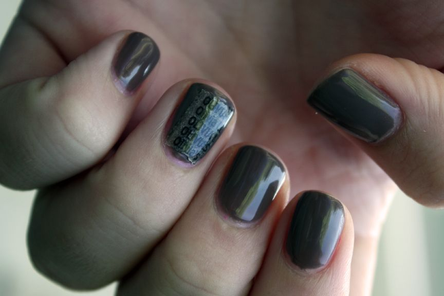 Cnd Creative Nail Design Shellac In Rubble Nails Pinterest