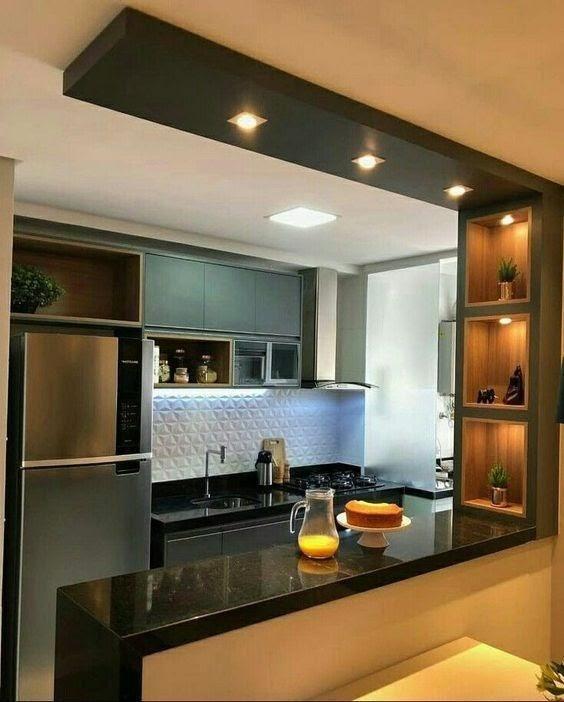 A cozinha dos meus sonhos é essa aqui!