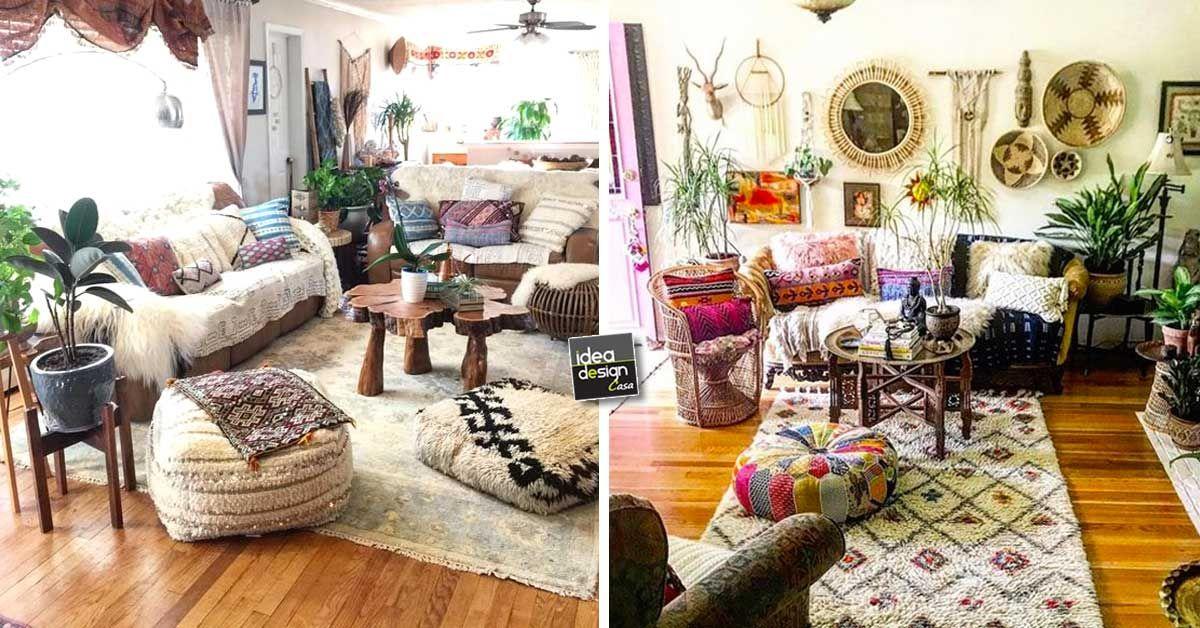 Casa Stile Hippie : Arredare casa in stile hippie chic foto design mag