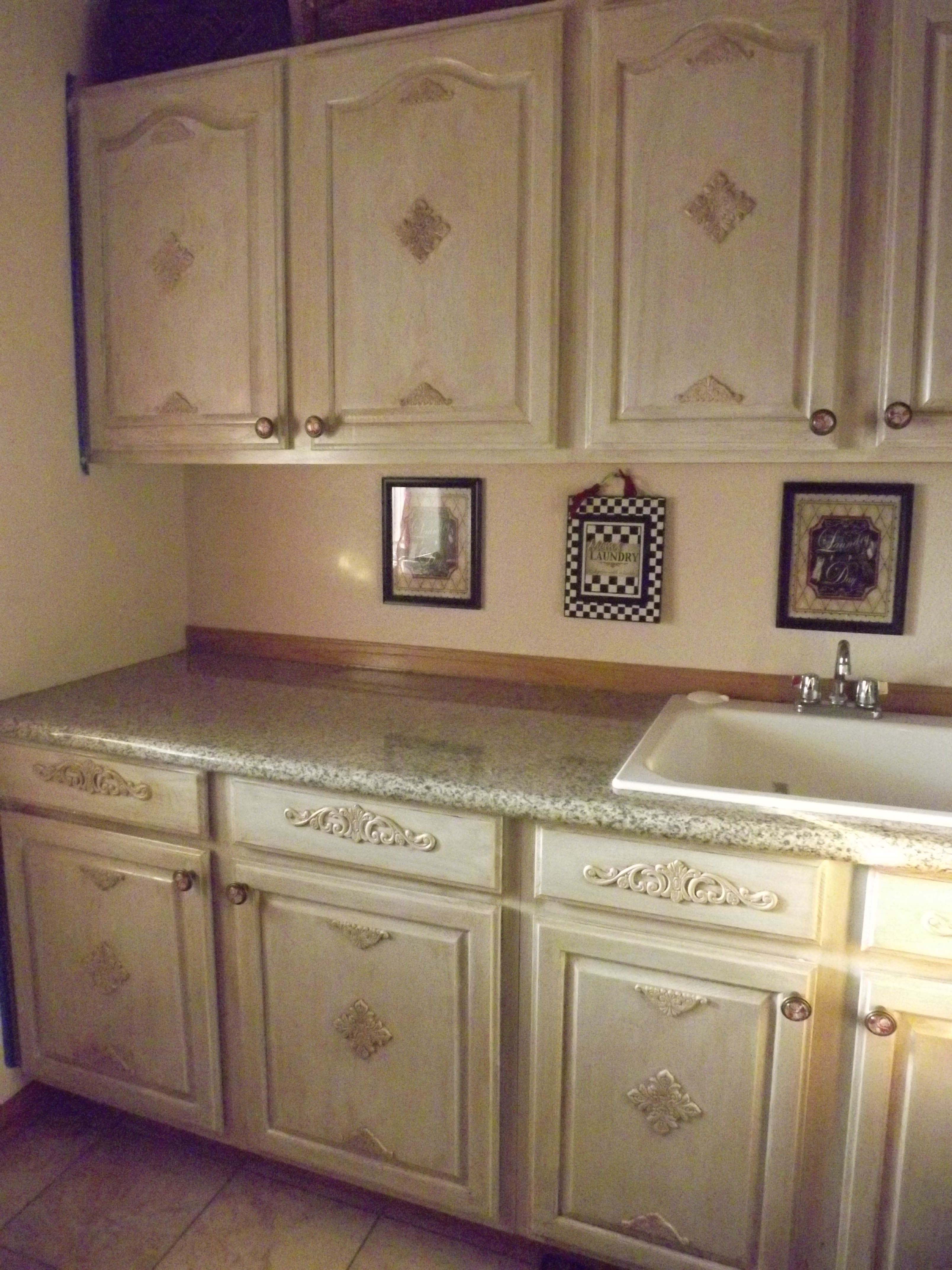 Laundry makeover | Decor & DIY projects | cabinets | Pinterest