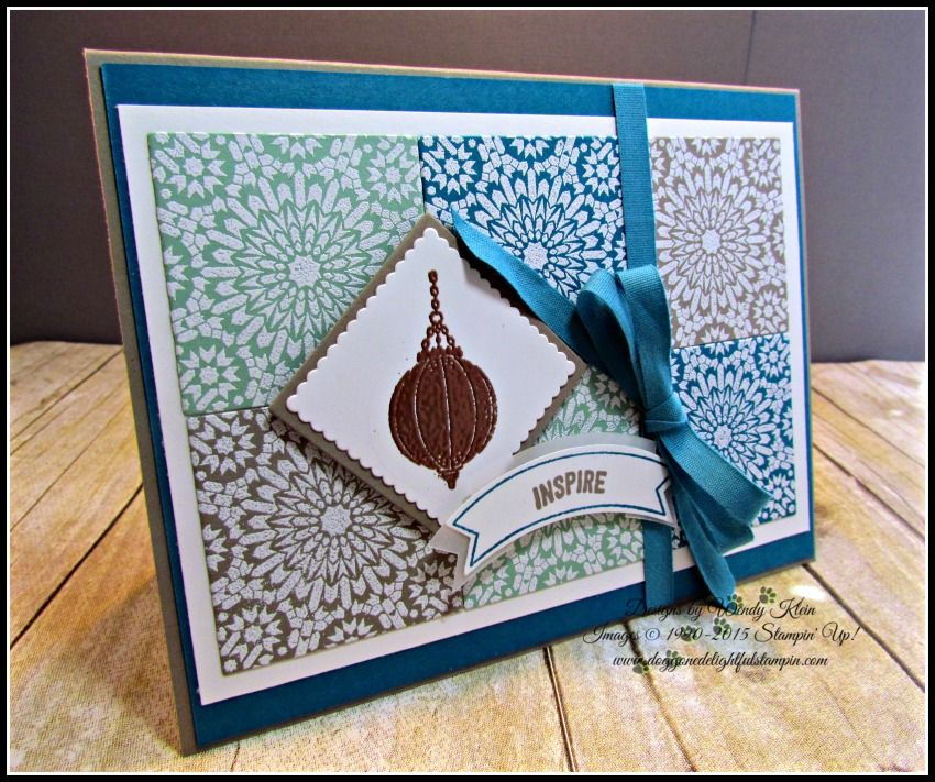 MOJO449GDP037 Moroccan Textile by kleinsong - Cards and Paper Crafts at Splitcoaststampers