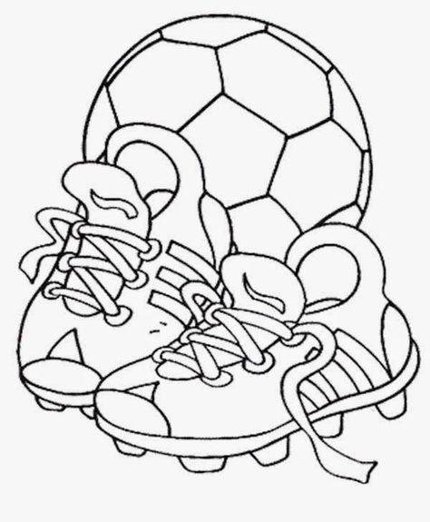 Dibujos y Plantillas para imprimir: Futbol | Manualidades futbol