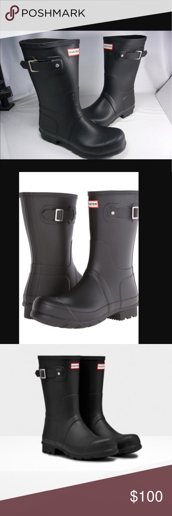 Hunter Men's Rain Boots Hunter is one of the best rain boots ...