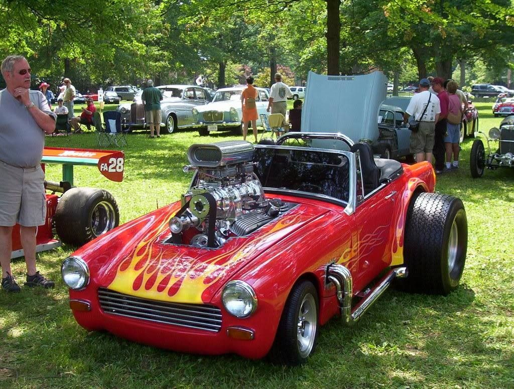 Mg midget hot rod