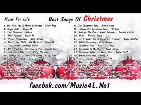 Christmas Songs 2014 (1hr Mix Playlist) - YouTube | Christmas ...