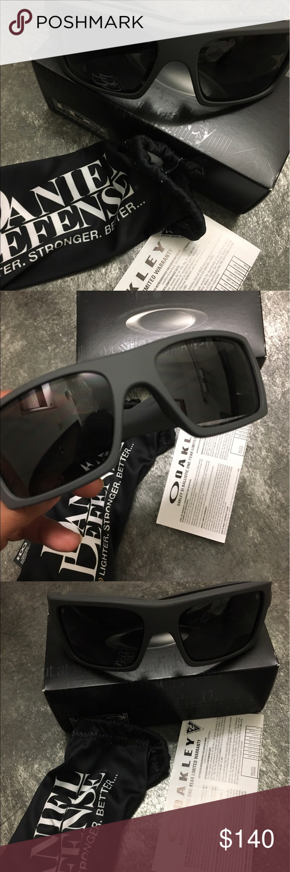b55c42bd60 Oakley SI det cord Daniel defense NEW Cerakote collection daniel defense.  cerakote tornado grey Oakley Accessories Sunglasses