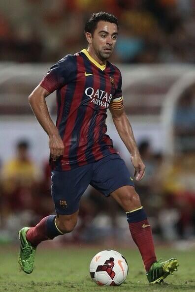 #FCBarcelona Xavi Hernandez.