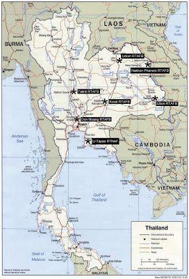 Thailand Aviation: USAF units in Thailand during the Vietnam