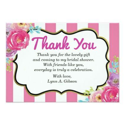 thank you bridal shower card bridalshower invitations weddinginvitations wedding invitations party card cards invitation bridal