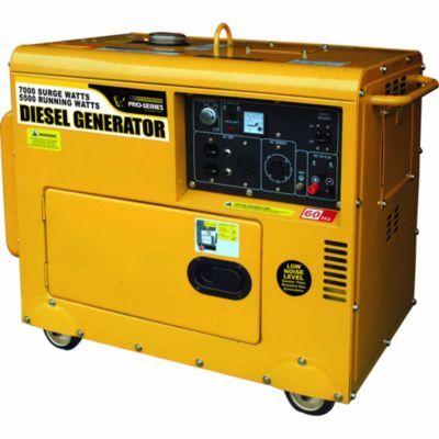 Pro Series Diesel 7 000 Watt Generator Tractor Supply Co Generators For Sale Tractor Supplies Tractor Supply Co
