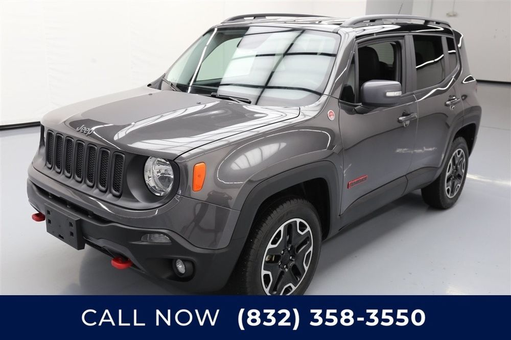 Jeep Renegade Trailhawk Texas Direct Auto 2016 Trailhawk Used 2 4l