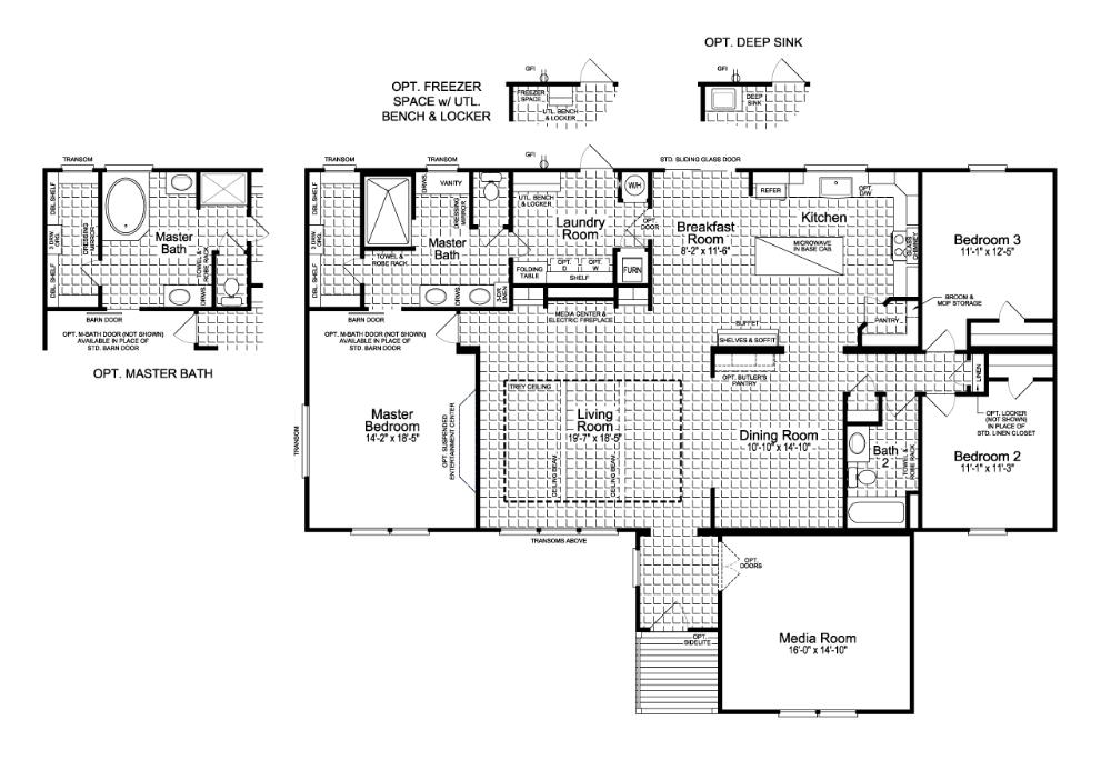 Floor Plan The Vintage Farmhouse Flex FT A